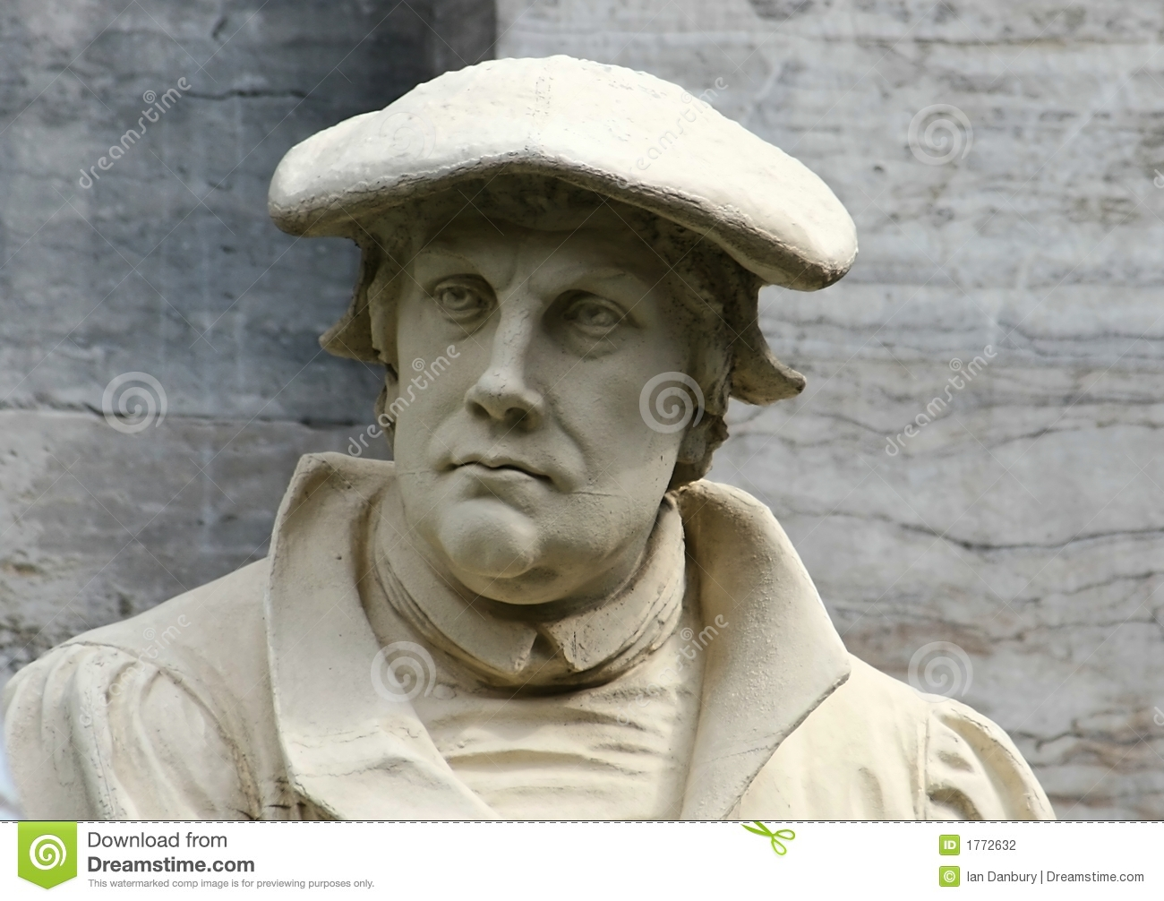 Martin Luther Stock Photography - Image: 1772632