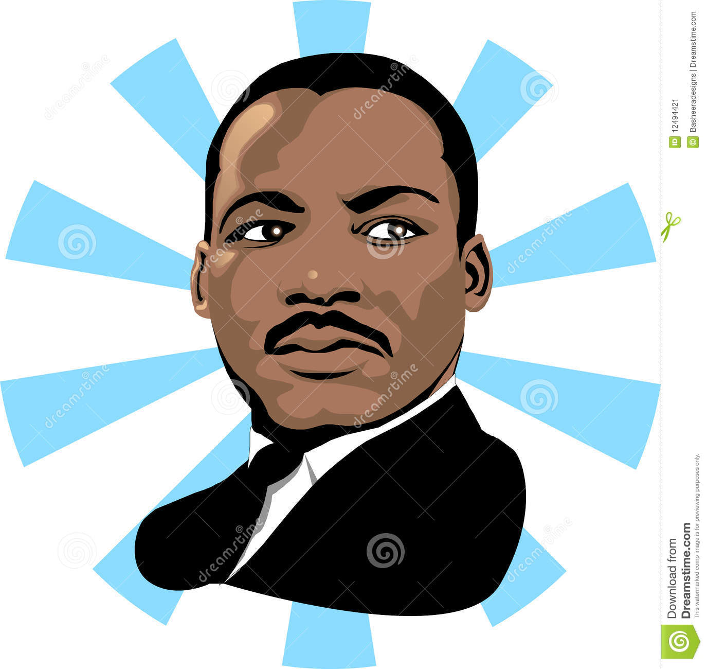 martin luther king 2 editorial photo illustration of king 12494421 rh dreamstime com martin luther king day clipart martin luther king day clipart