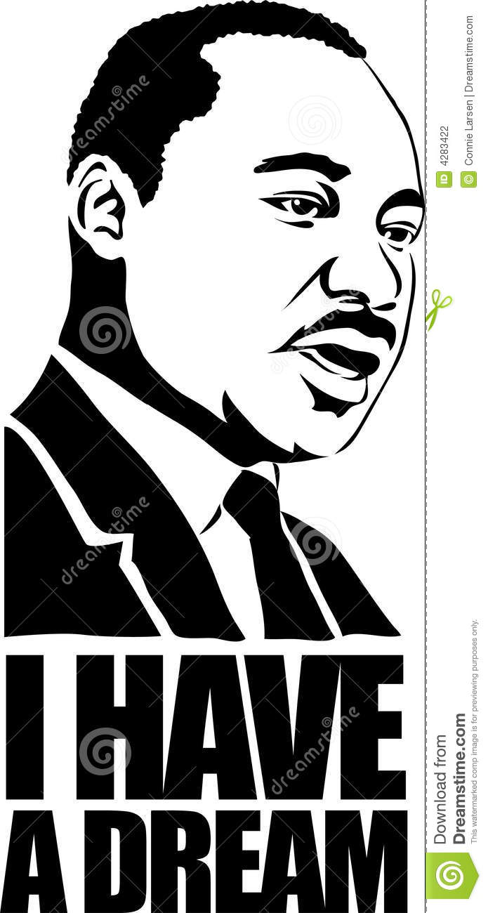 Martin Luther King Eps Editorial Photography Illustration Of