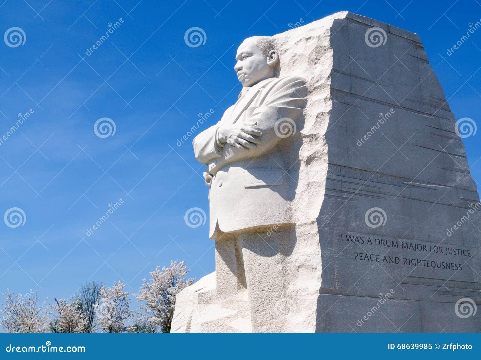 Martin Luther King Jr commémoratif