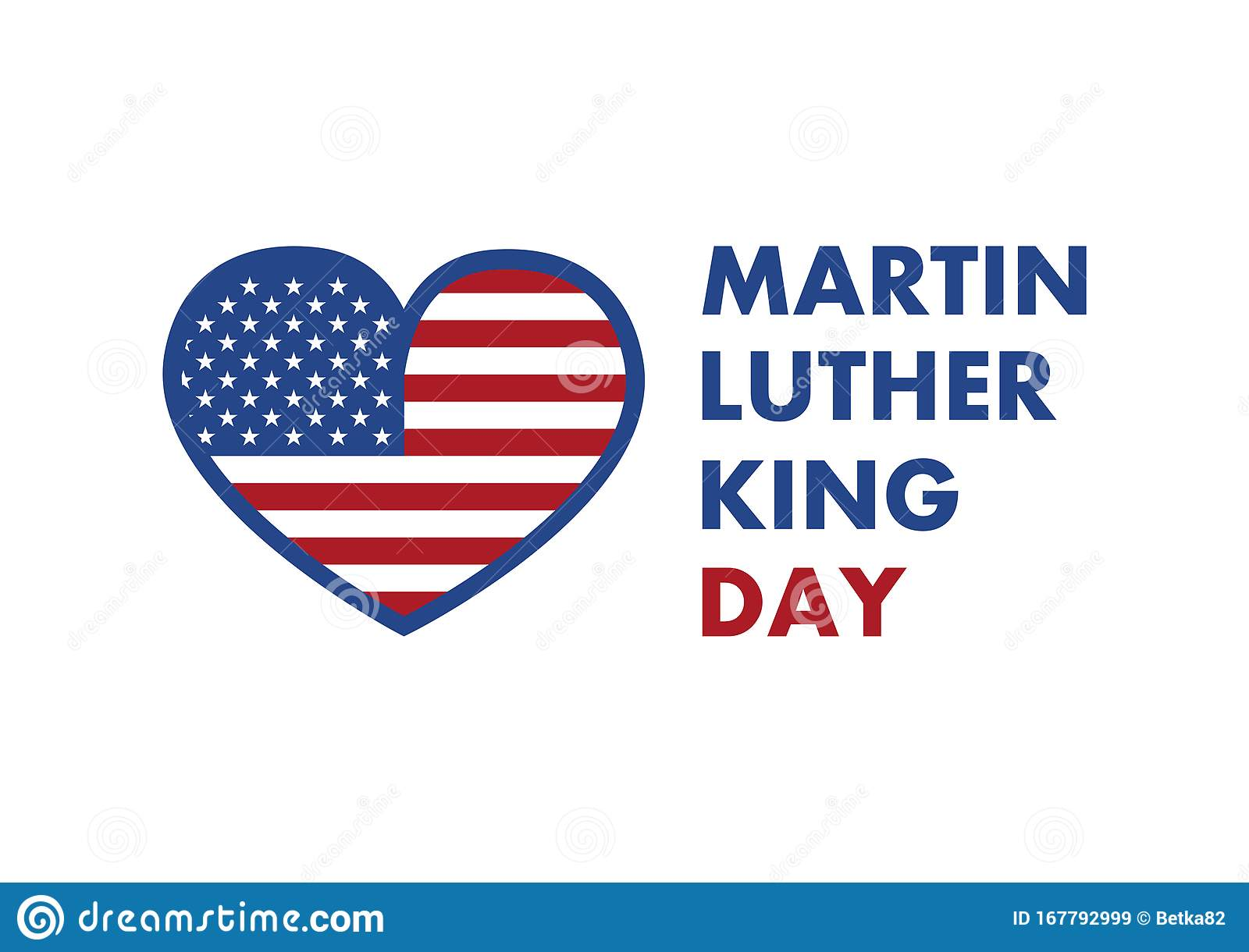 Martin Luther King Jr. Day Vector Stock Vector ...
