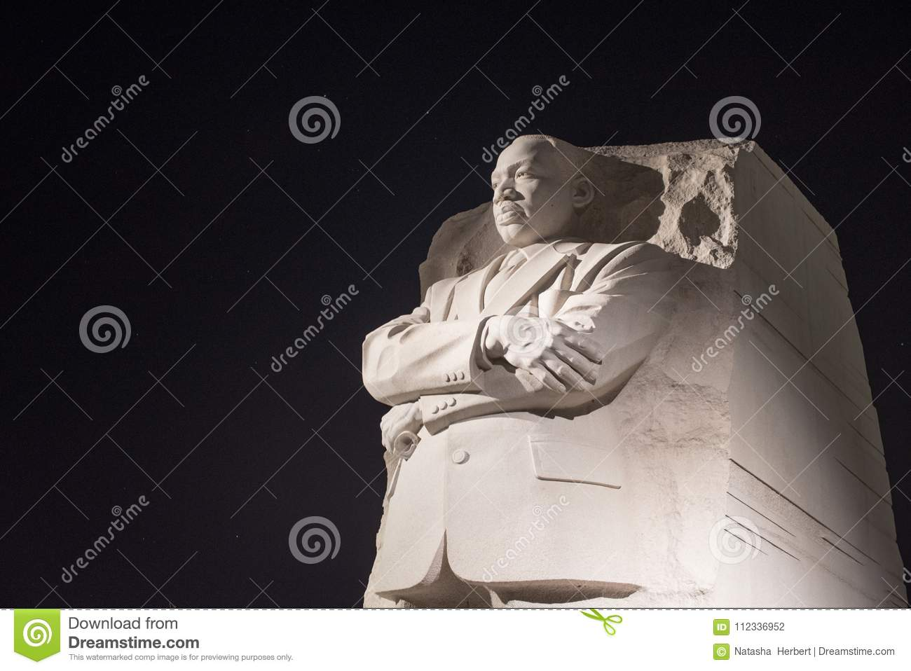 Martin Luther King Jr Monument Editorial Photography Image Of