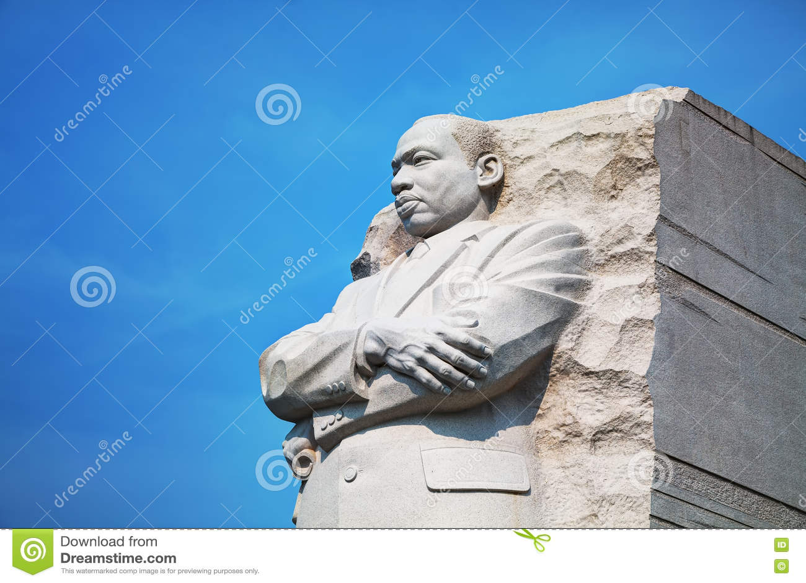 Martin Luther King, JR monument commémoratif à Washington, C.C
