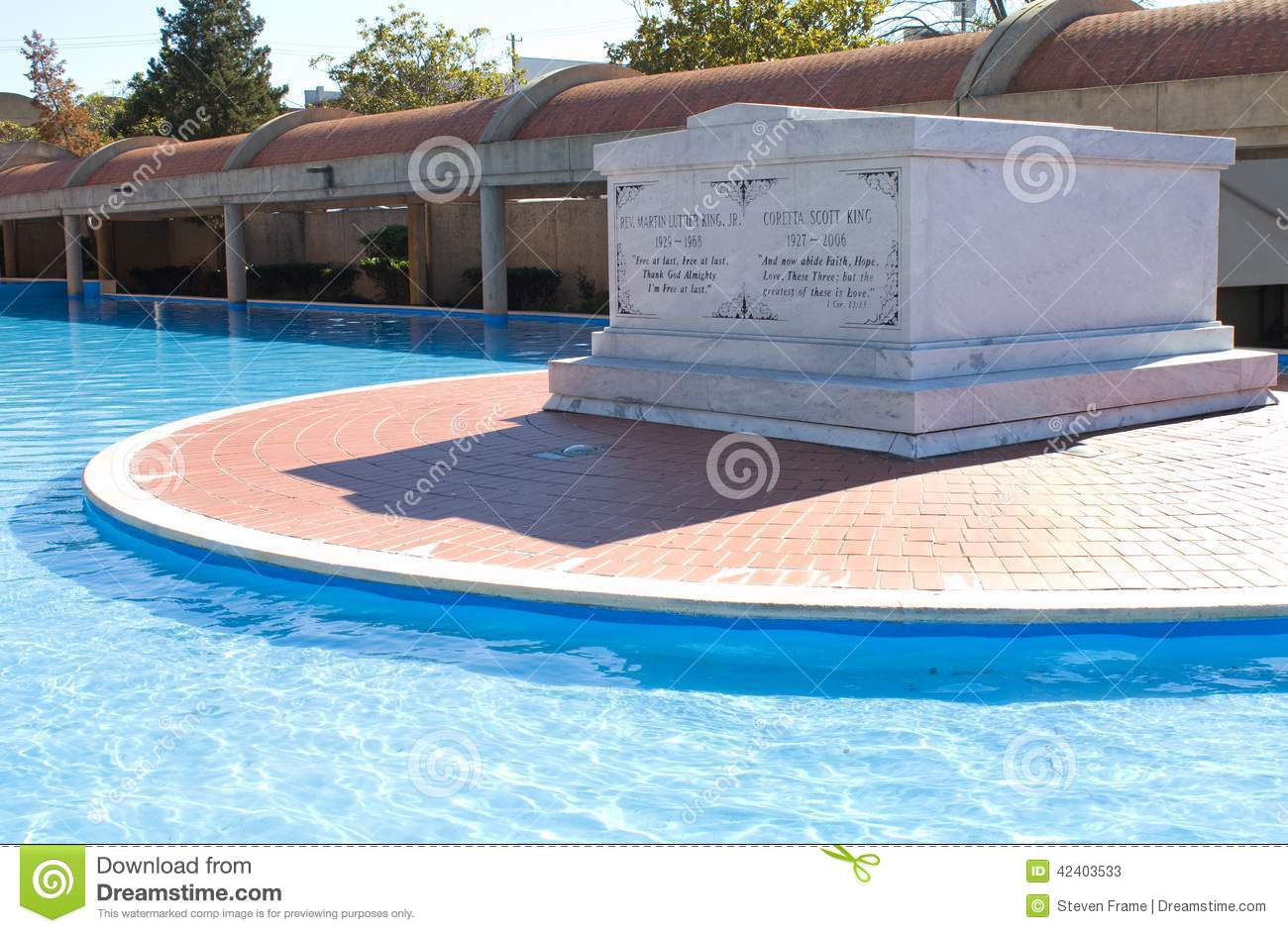 Martin Luther King Jr Tomb Editorial Stock Photo Image Of Sites