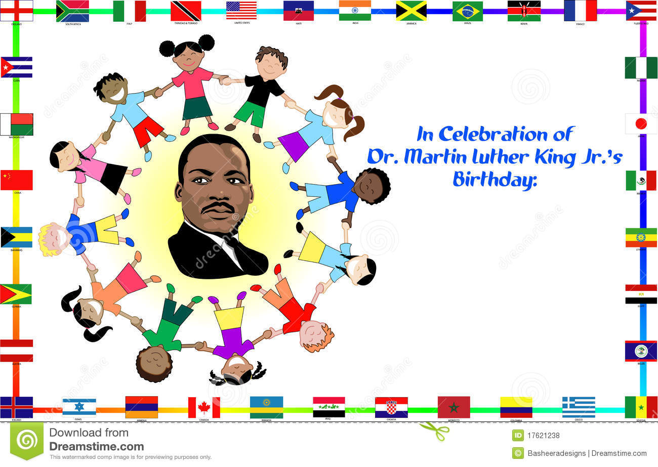 Martin Luther King With Kids Editorial Stock Photo · dr dream holiday jr ...