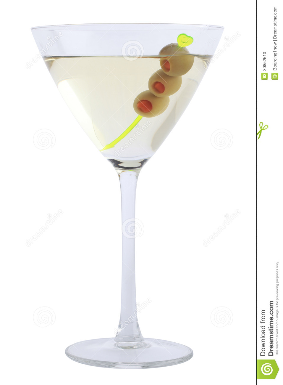 Martini bianco with olives stock photo image of alcohol for How to make martini cocktail