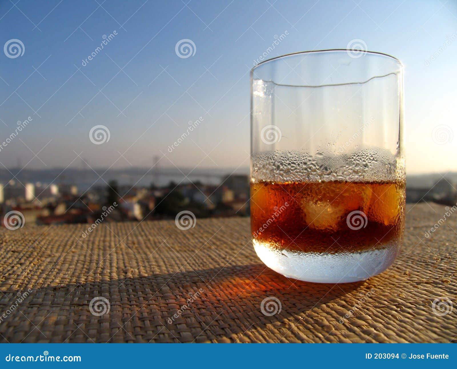 Martini en la terraza