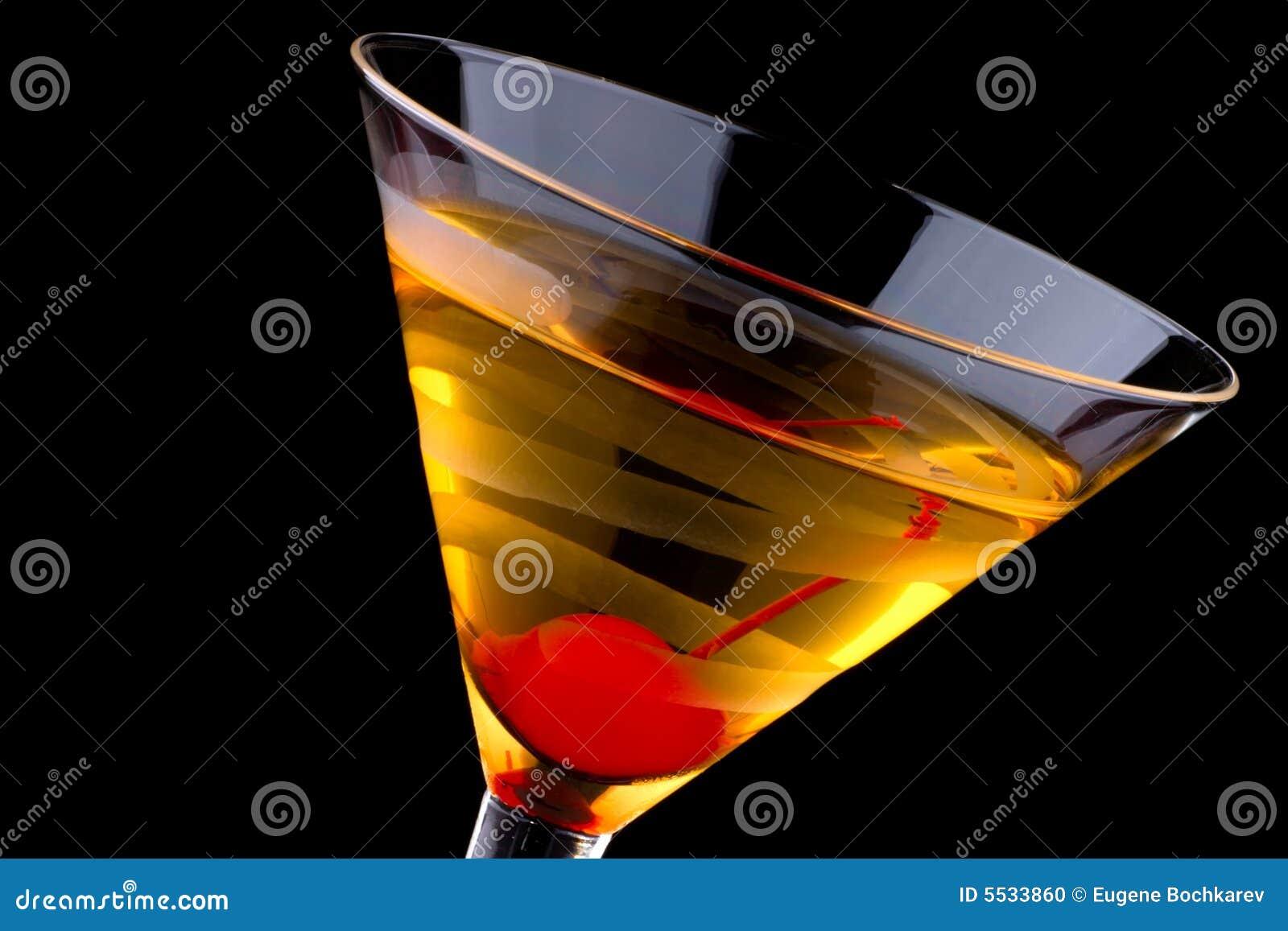 Martini francês - a maioria de série popular dos cocktail