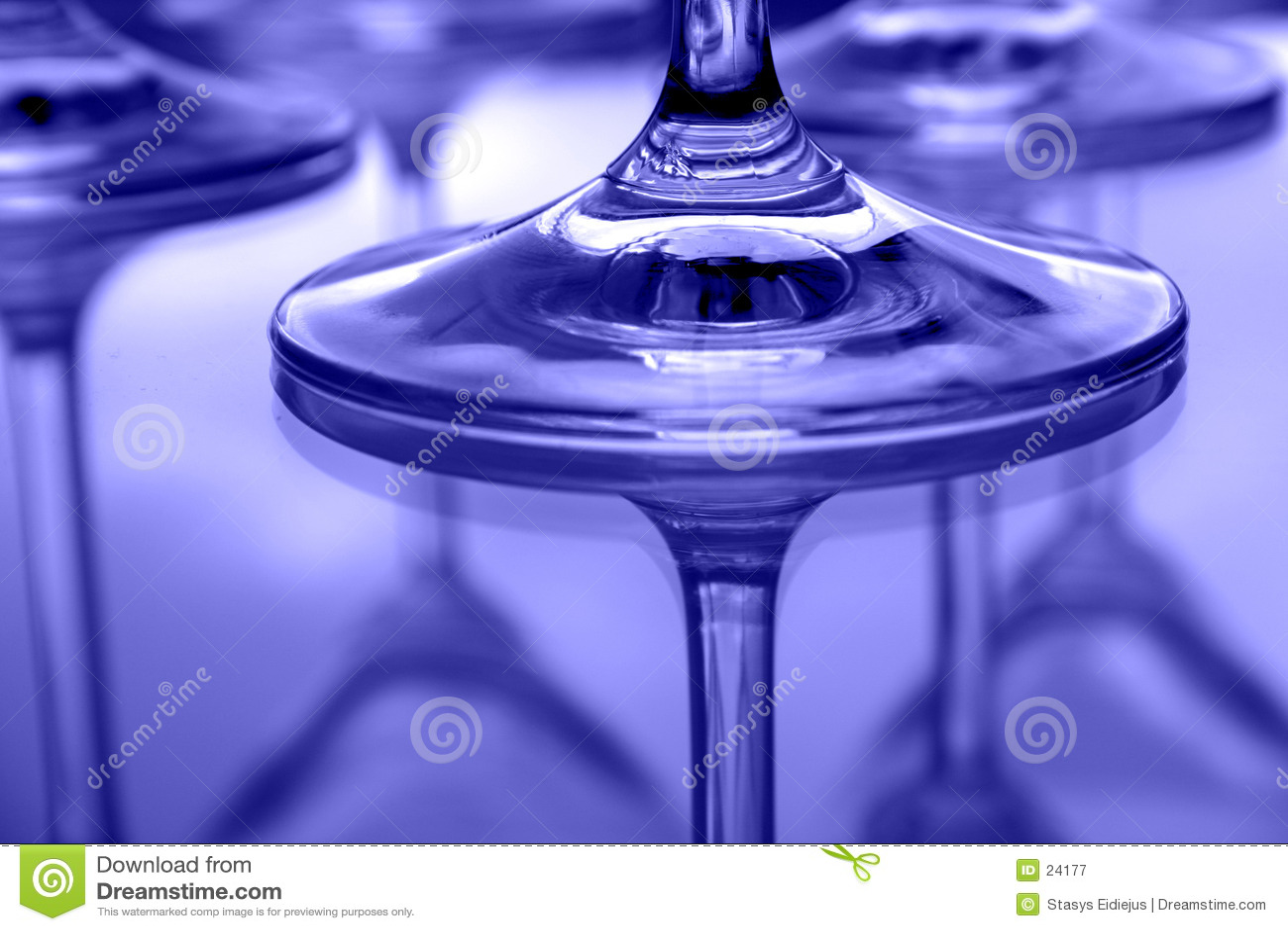 Martini-Gläser