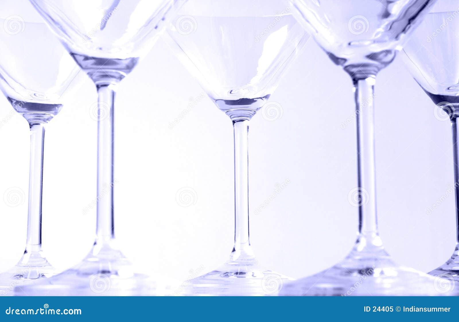 Martini-Gläser VI