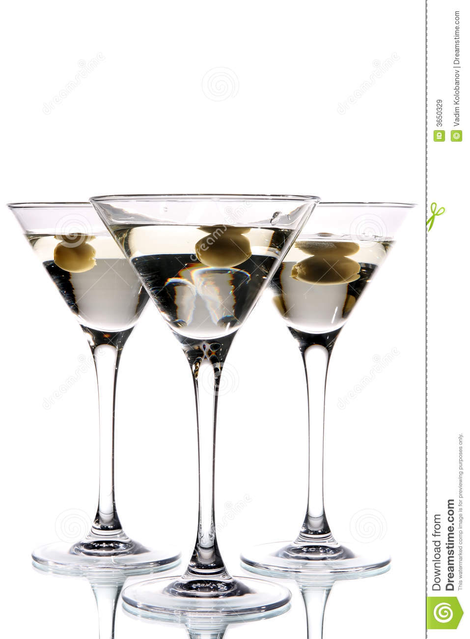 Martini Glass With Olive Inside Stock Image Image Of Drink Black