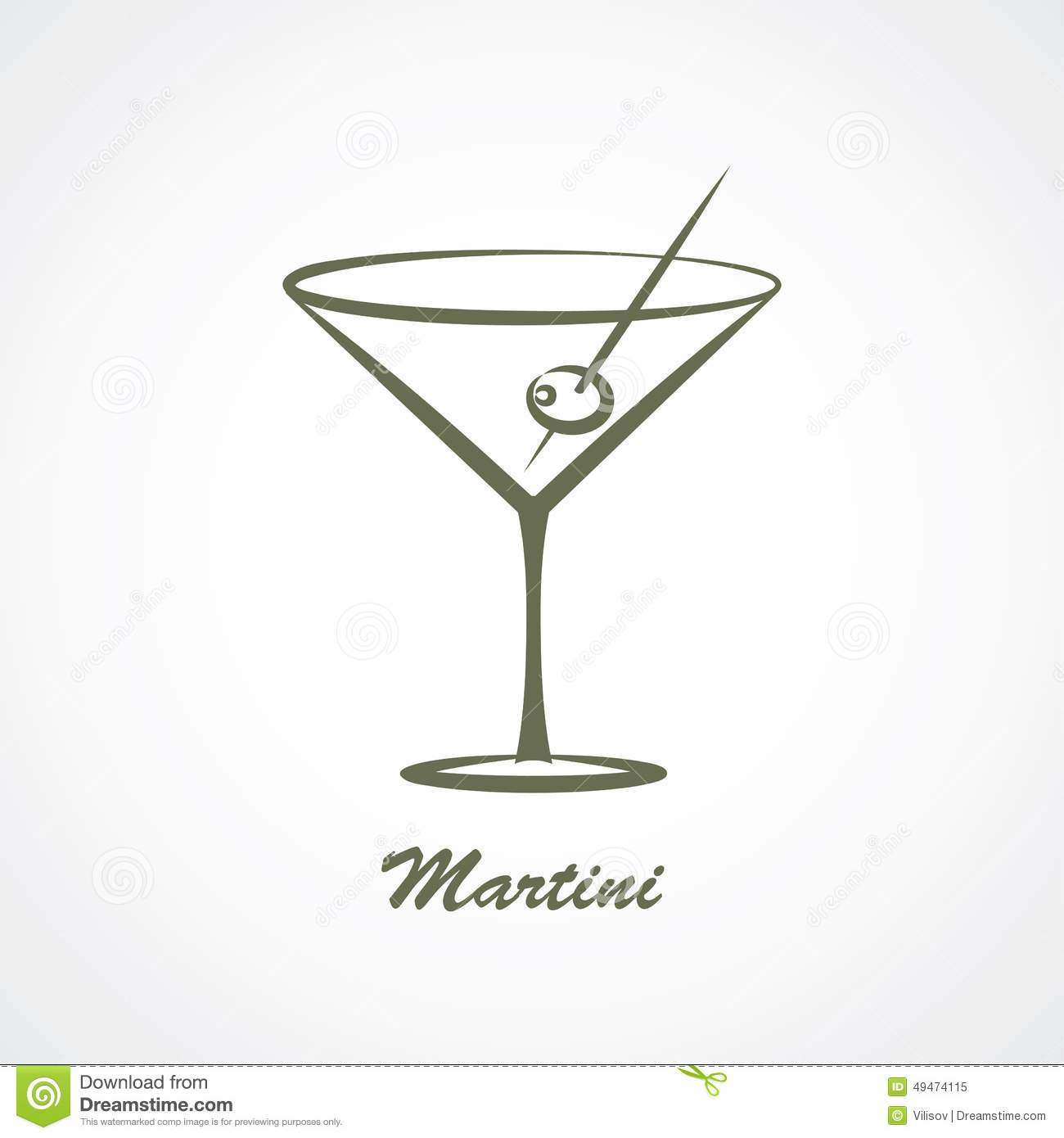 Martini Glass Vector Pictures to Pin on Pinterest - PinsDaddy