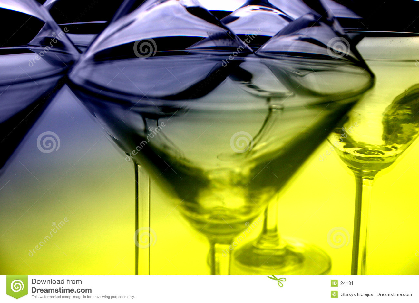Martini glasses III