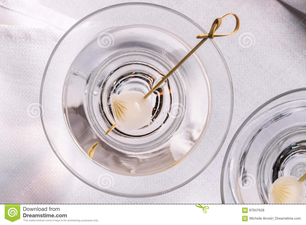 martini stock photo image of classy neat linen beverages 97847638