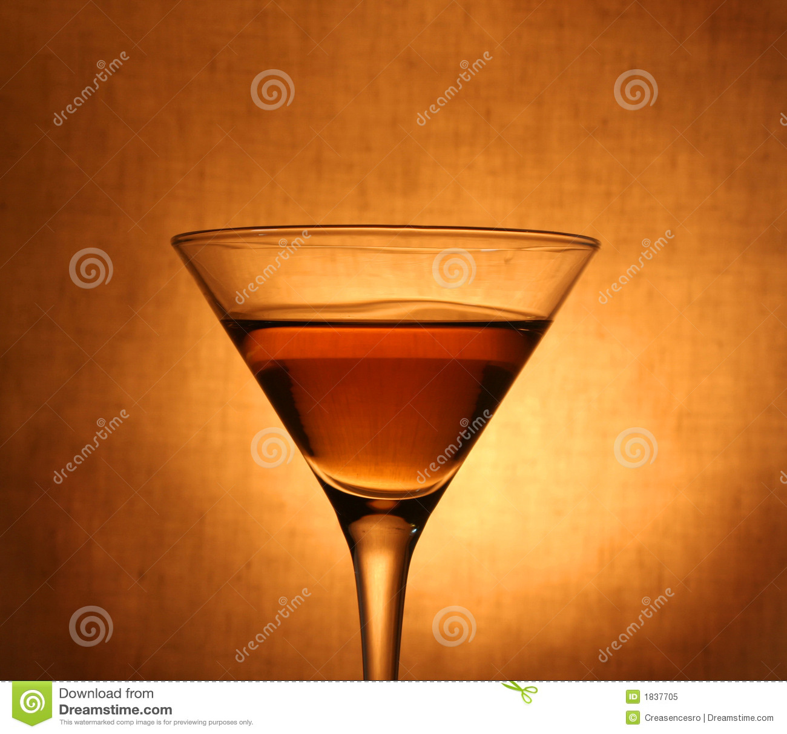 Martini nel vetro