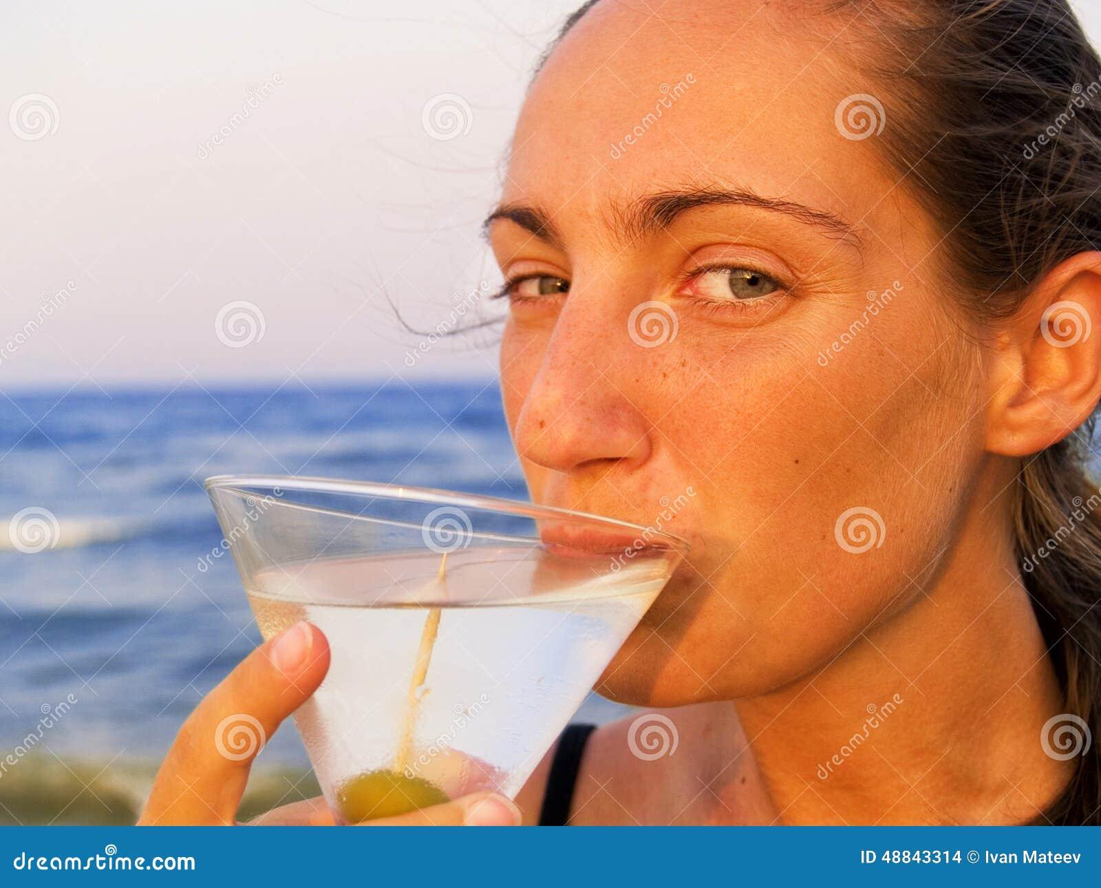 Martini sulla spiaggia