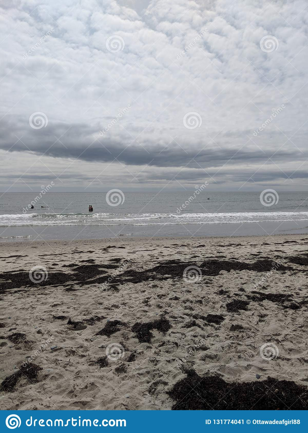 Martinique Beach In Nova Scotia Stock Image - Image of ocean
