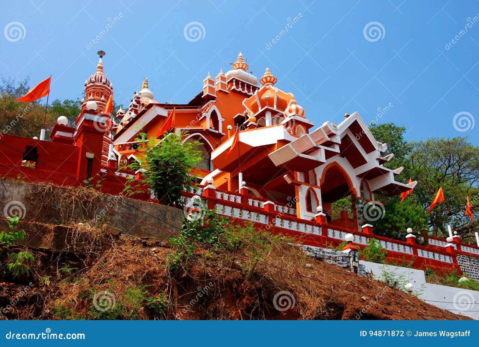 Marutitempel in Panjim, gewijd aan de Hindoese Aapgod Hanuman