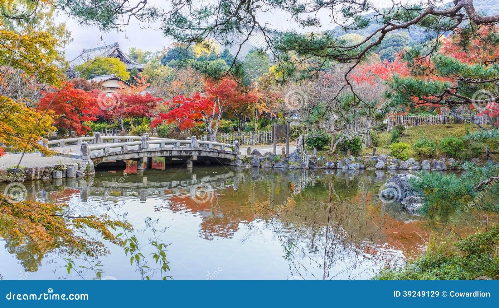 Maruyama Koen (Maruyama Park) In Autumn, In Kyoto Stock Photo - Image: 39249129
