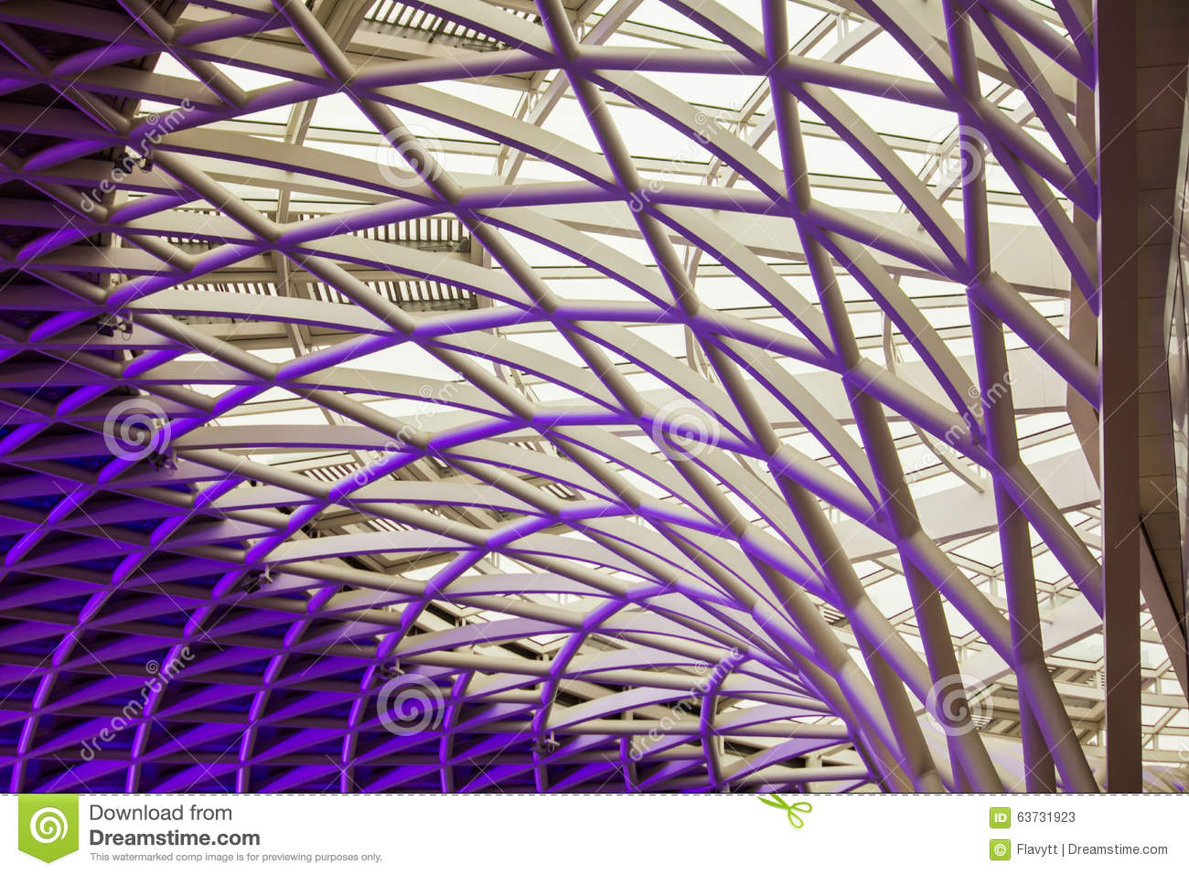The marvellous Kings Cross ceiling architecture