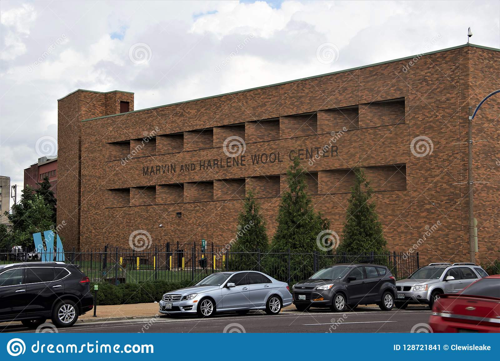 Marvin i Harlene wełny centrum saint louis Uniwersytecki wejście, St Louis Missouri