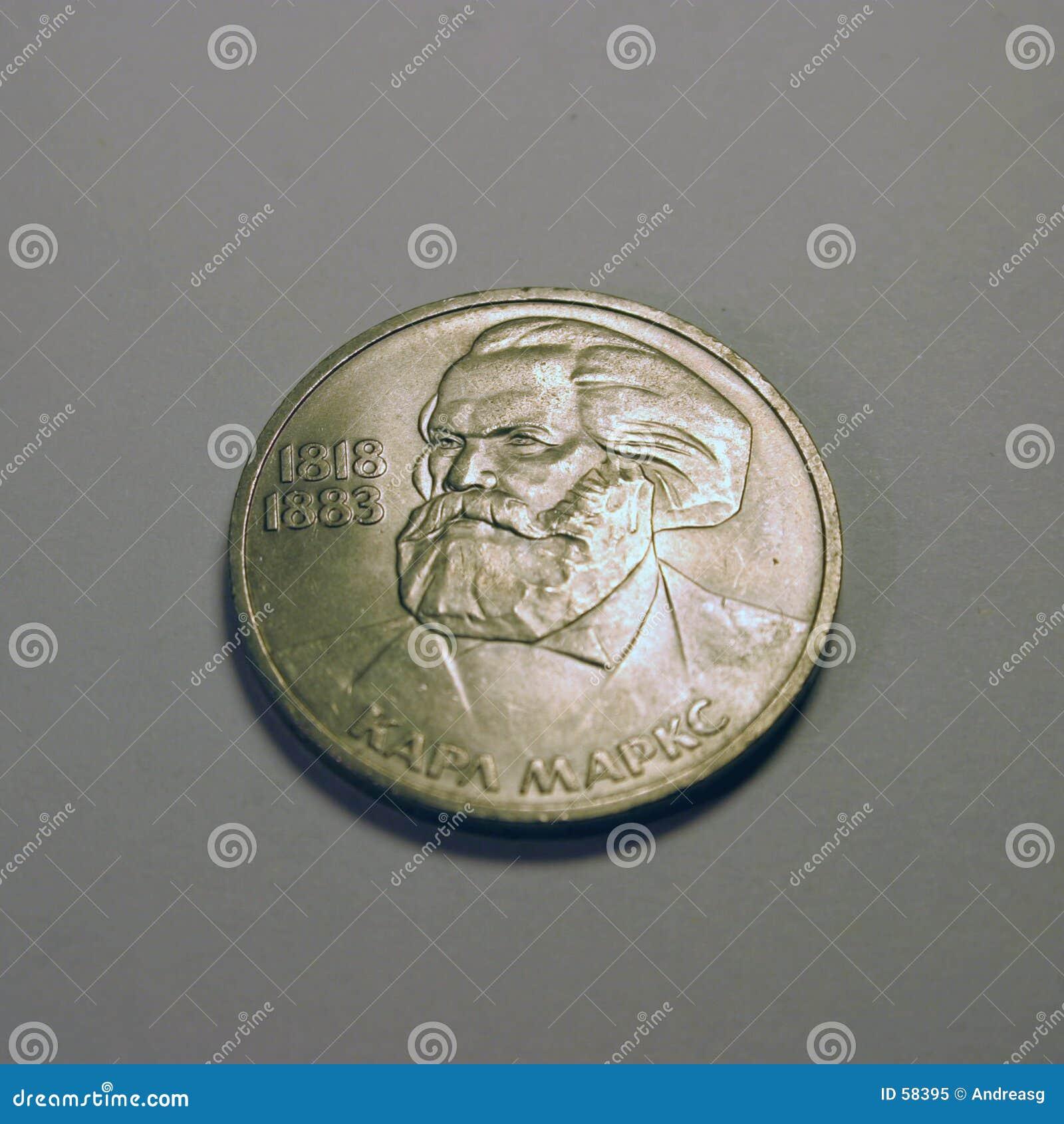 Download Marx στοκ εικόνα. εικόνα από marx, νομίσματα, ασήμι, επαναστατικός - 58395