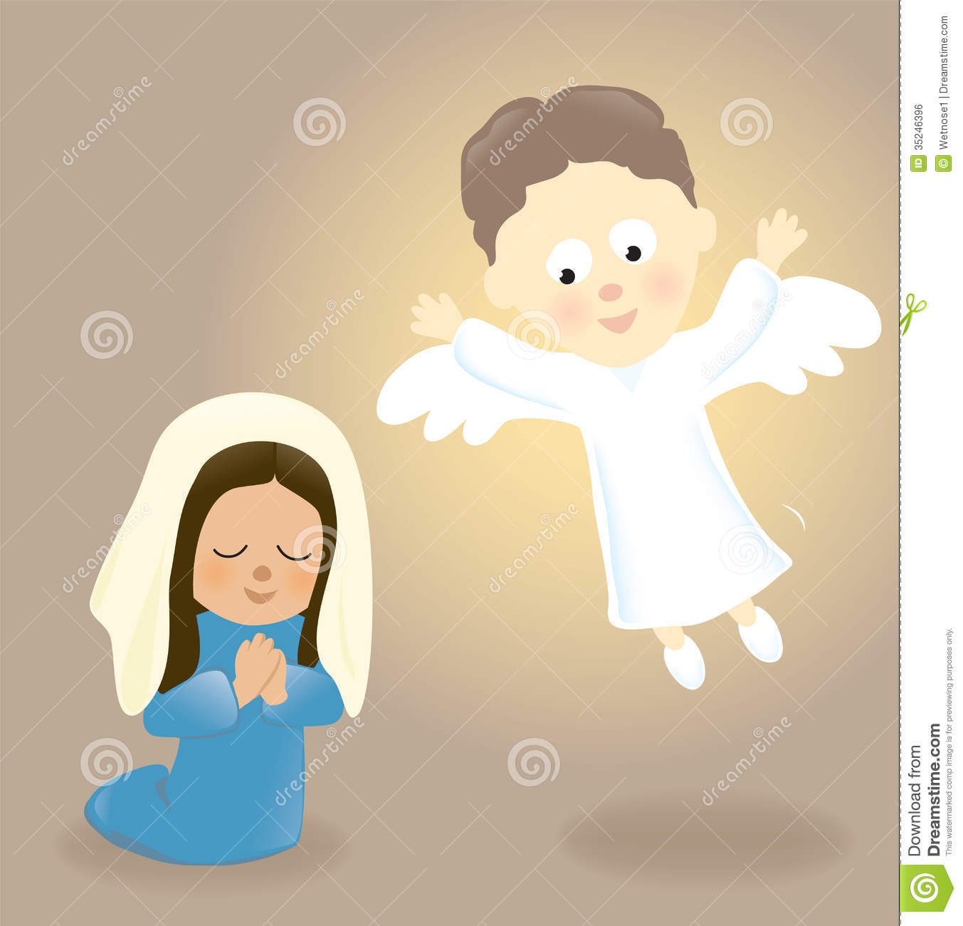 mary and the angel royalty free stock image image 35246396 free animated nativity scene clipart free nativity scene clipart images