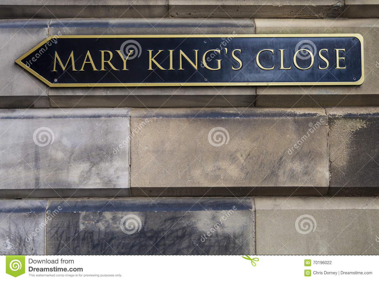 Mary Kings Close i Edinburg