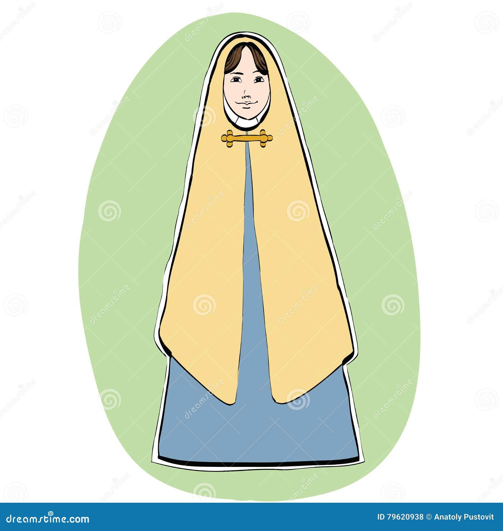Mary a mãe de Jesus, caráter de Christian Christmas