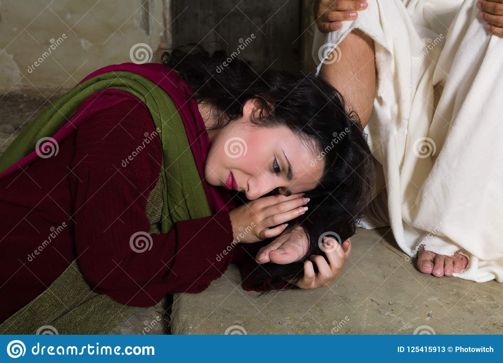 Mary Magdalene Feet Photos - Free & Royalty-Free Stock Photos from  Dreamstime