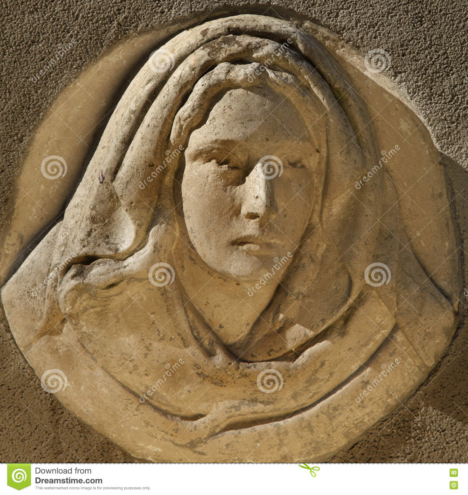 Mary posągów dziewicy