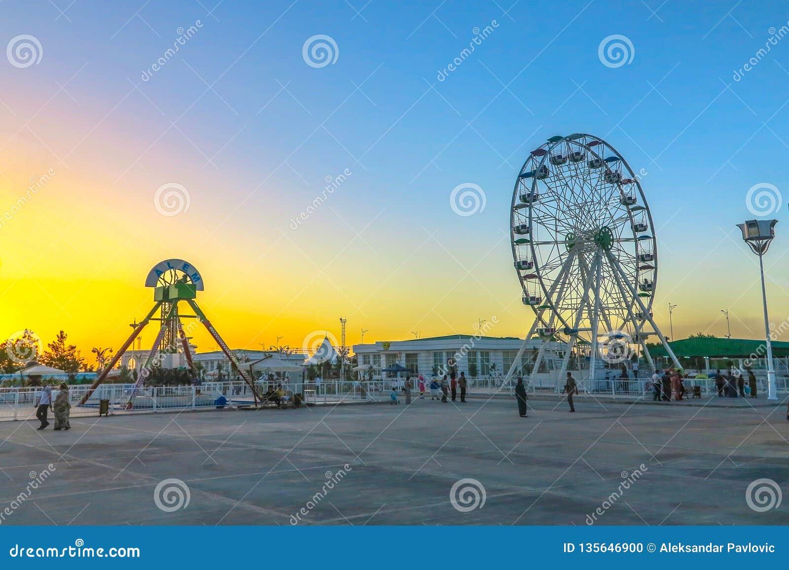 Mary Turkmenistan park rozrywki 01