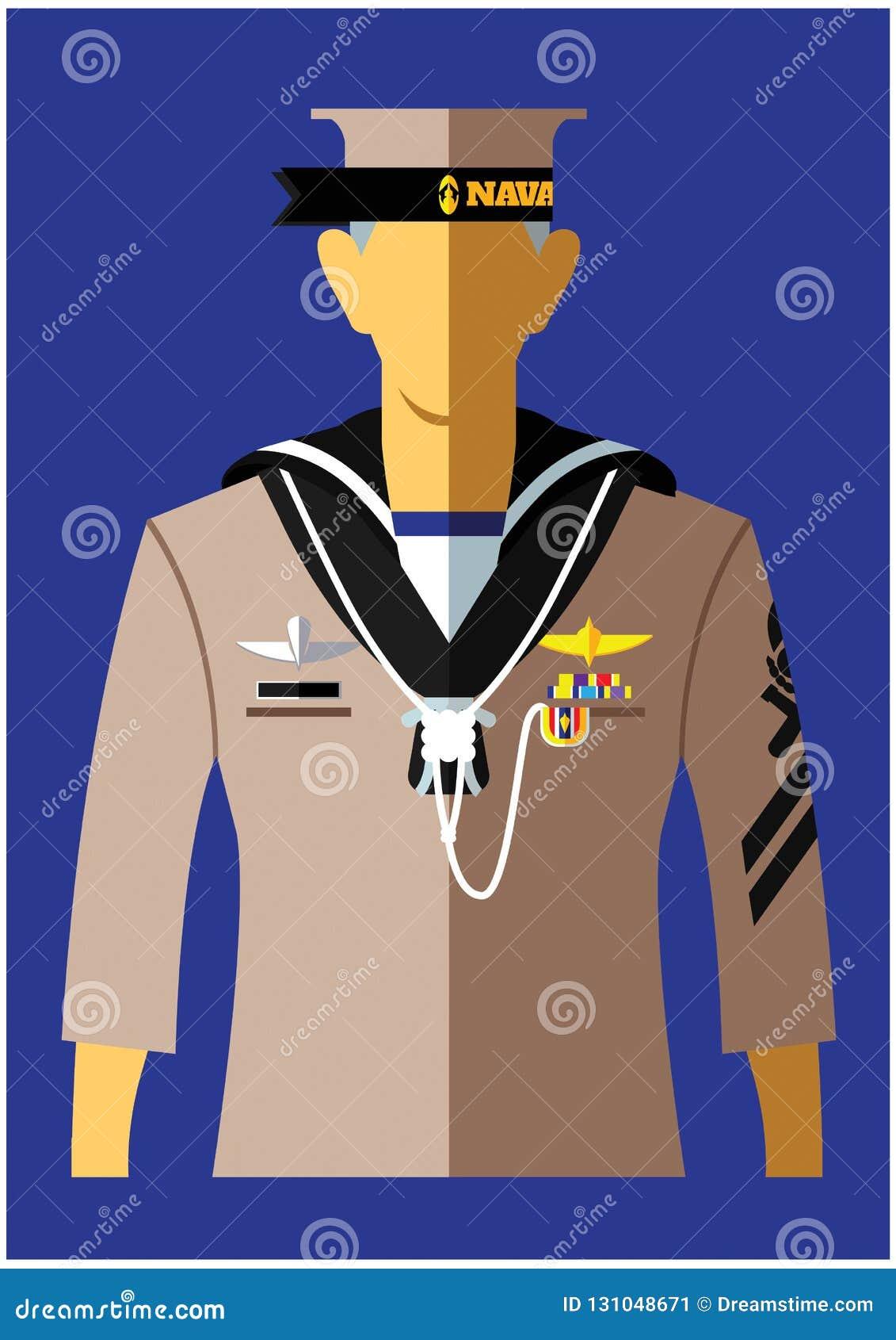 Marynarka wojenna mundur typ