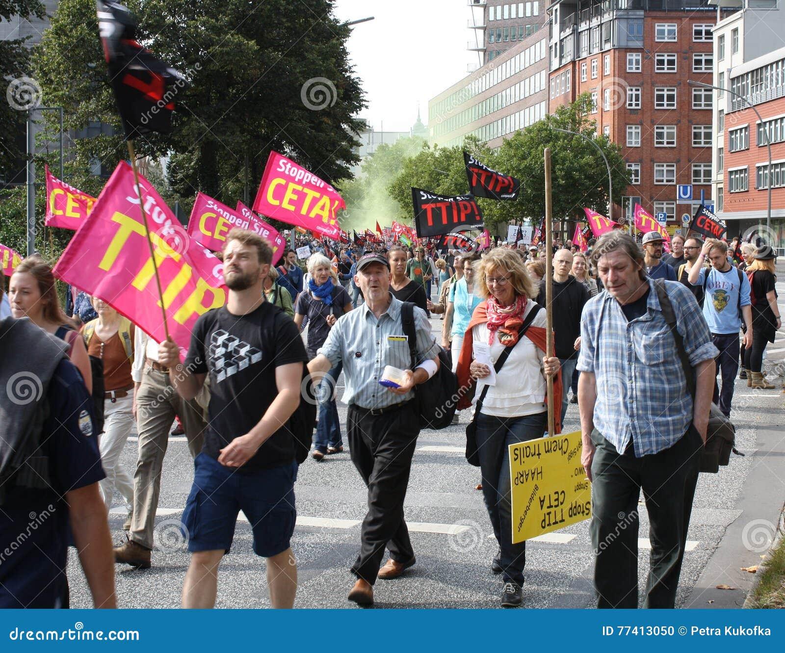 Marzec przeciw TTIP i CETA