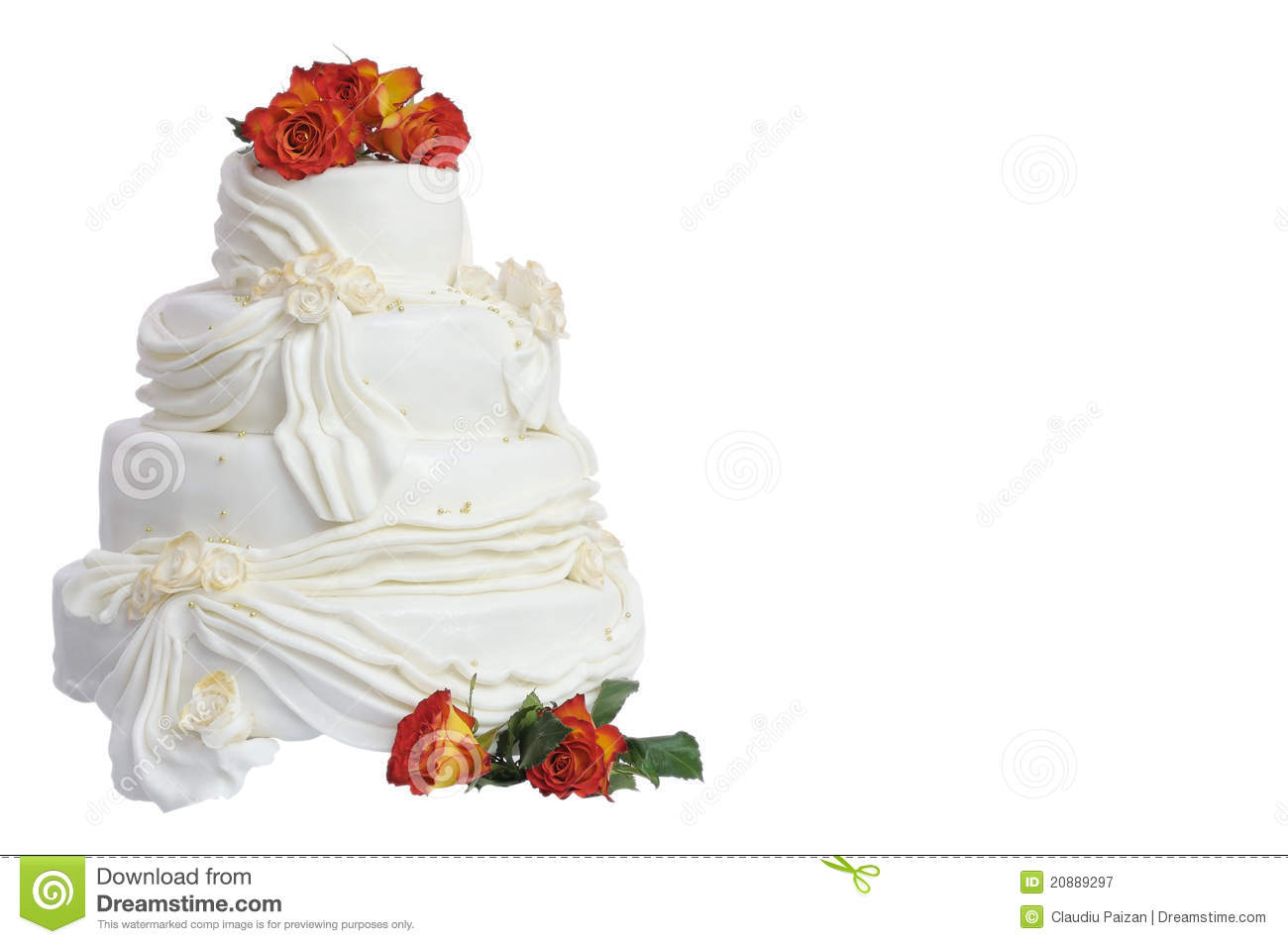 Marzipan Wedding Cake Royalty Free Stock Photography Image 20889297