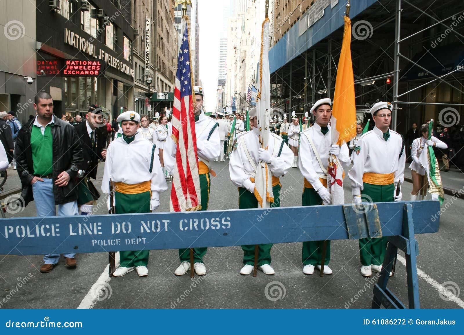 Marzo di parata di giorno di Patricks del san