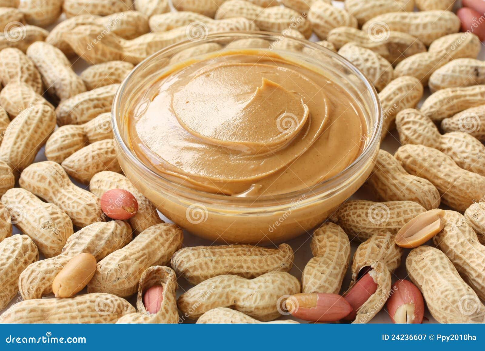 Masła arachidu arachidy