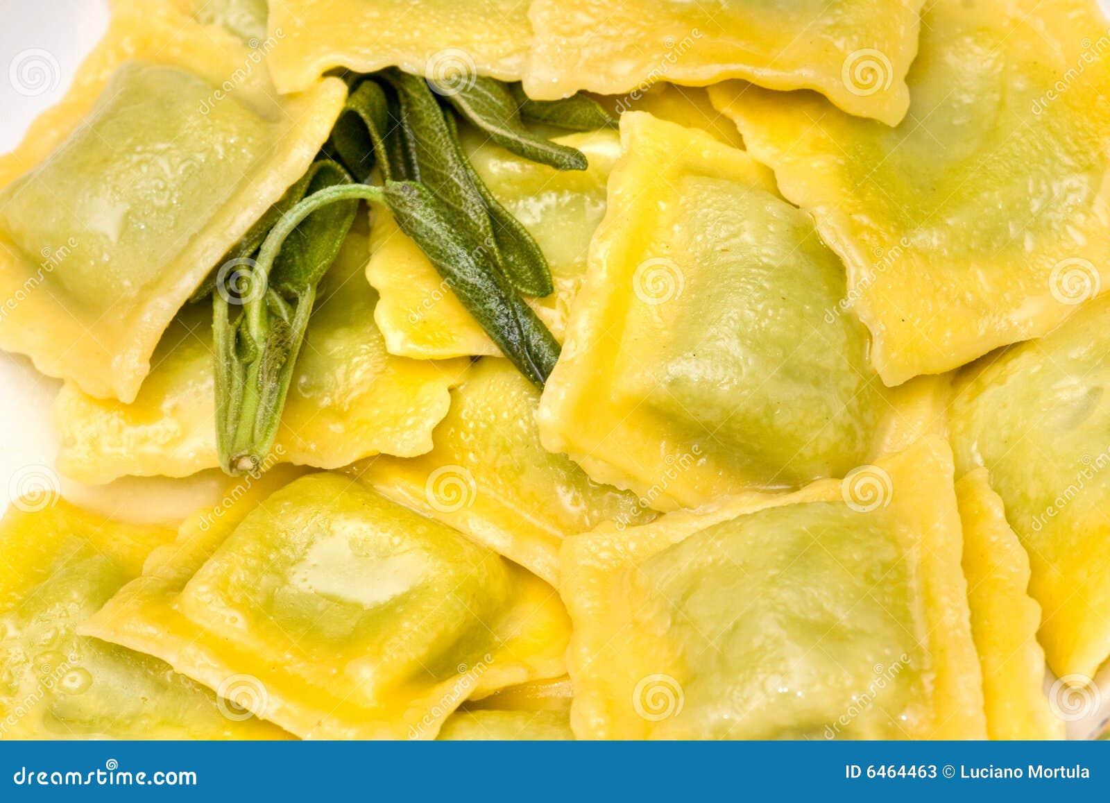 Masło jest pierożka szpinak sera