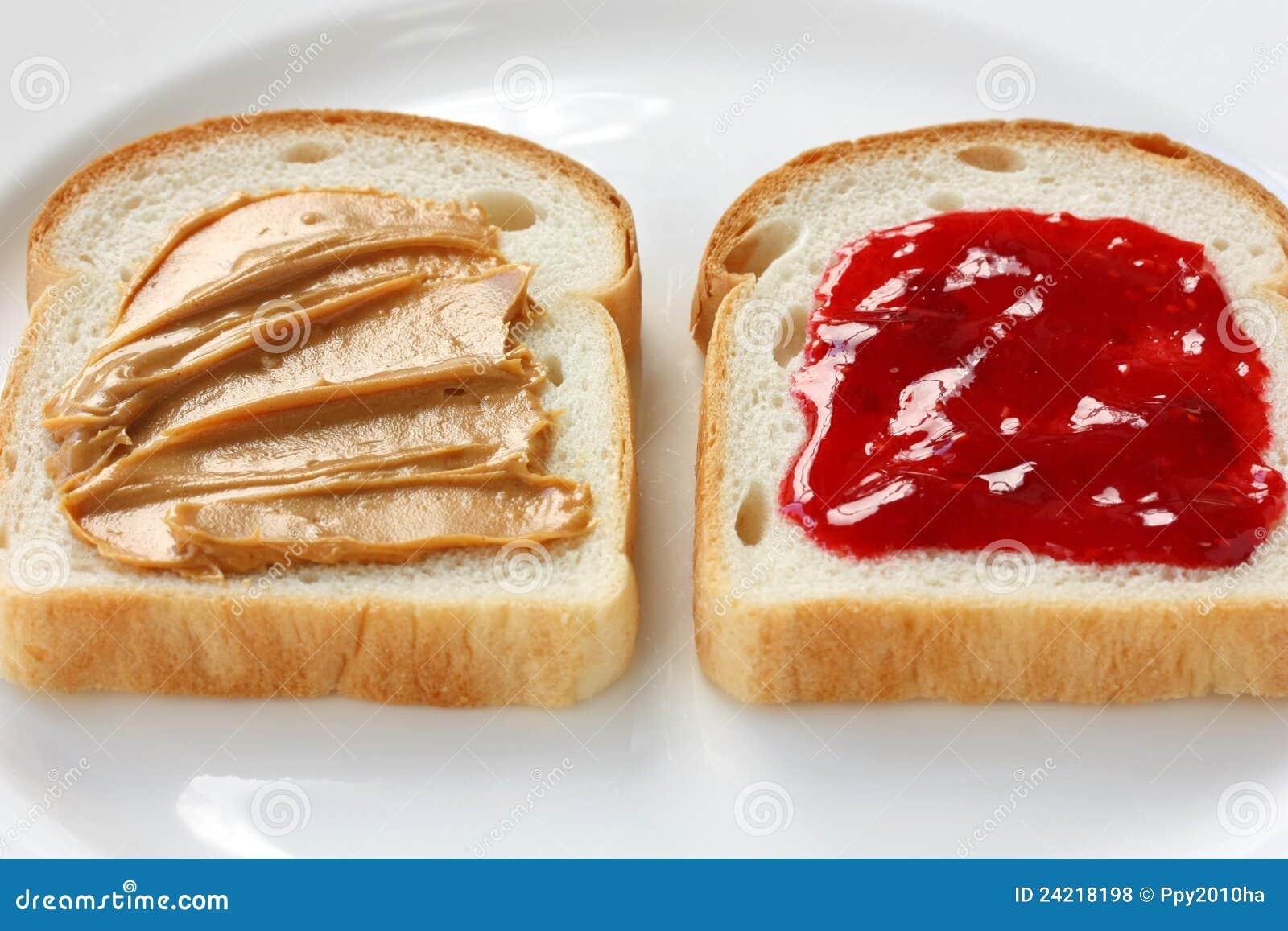 Masło kanapka galaretowa arachidowa