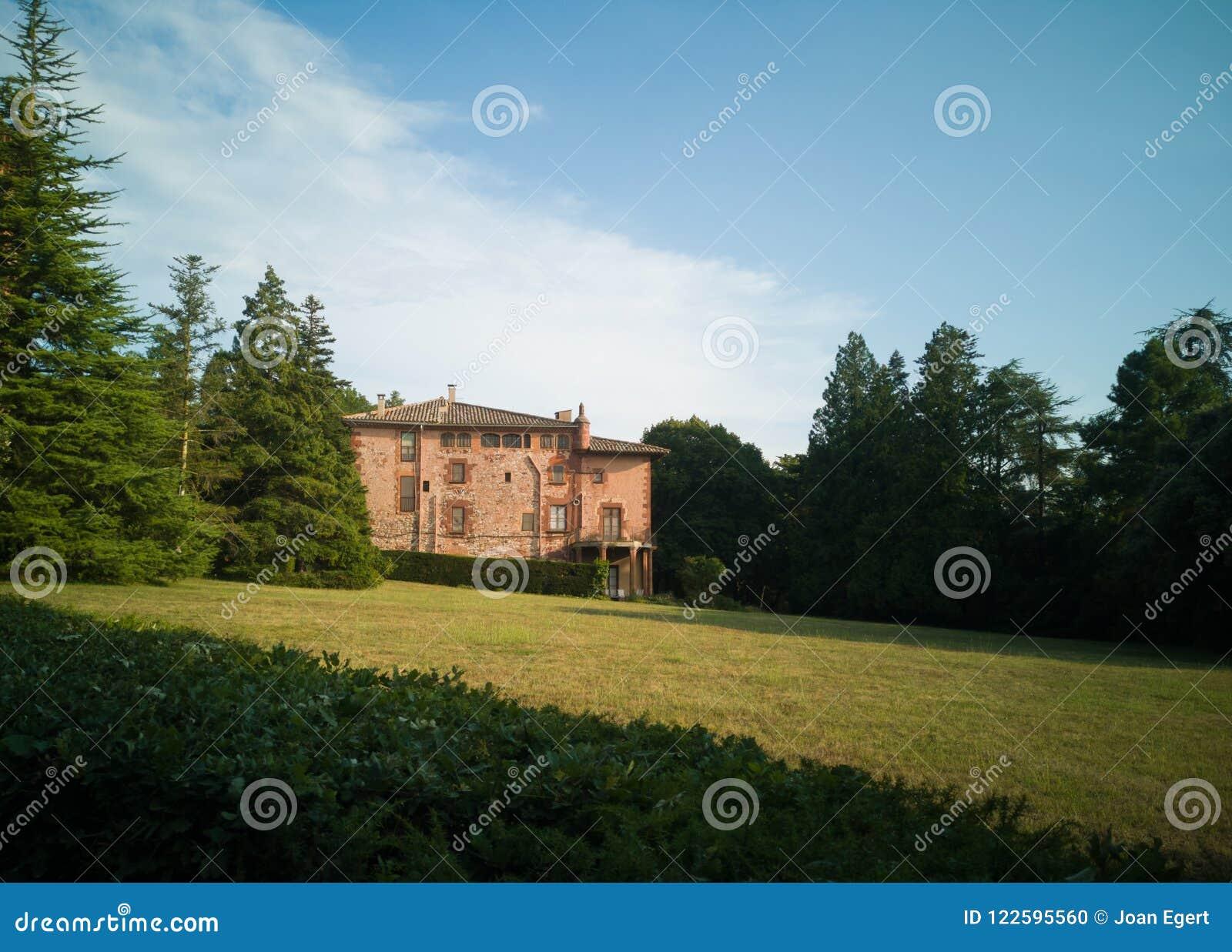 Mas Casademunt El Brull gospodarstwa rolnego dom