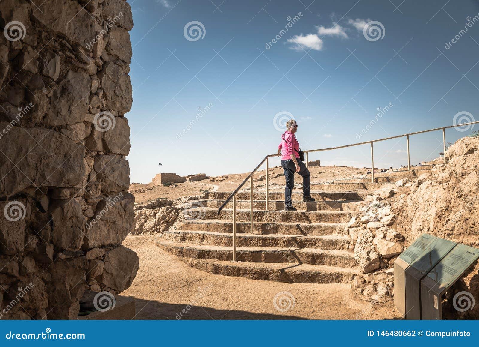 Masada国立公园Ruines