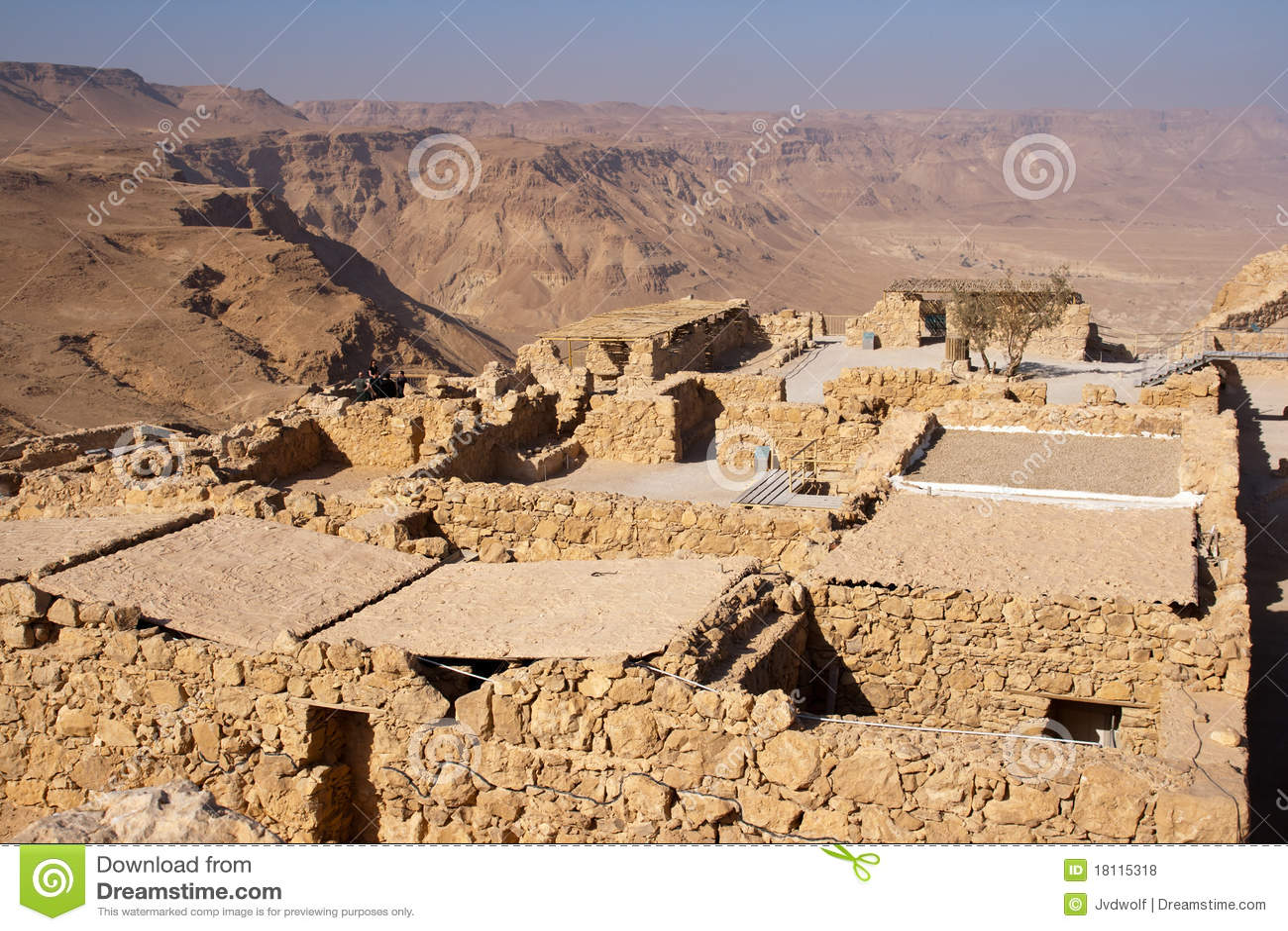 Archaeology in Israel: Masada Desert Fortress