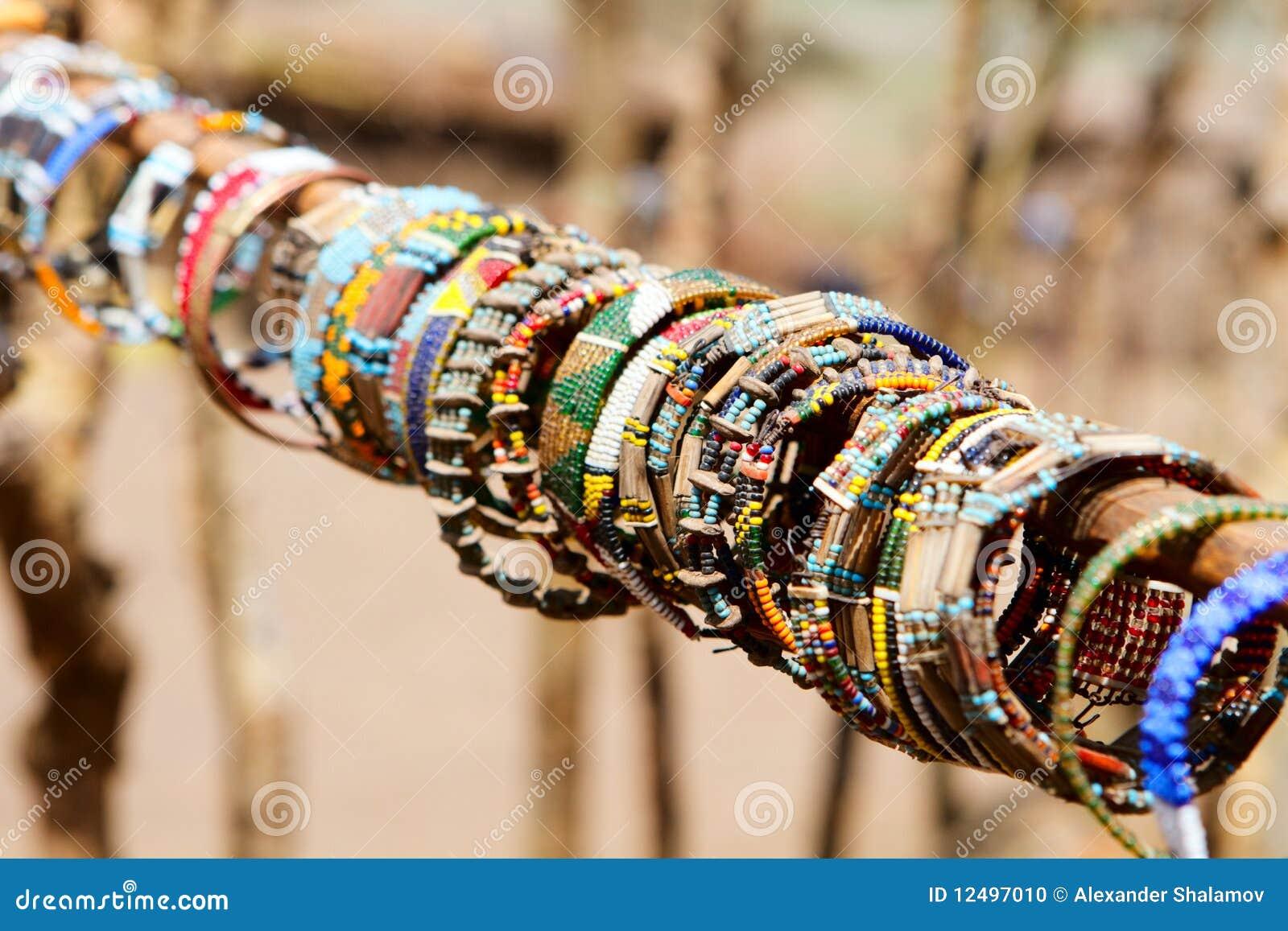 Masai ювелирных изделий традиционный