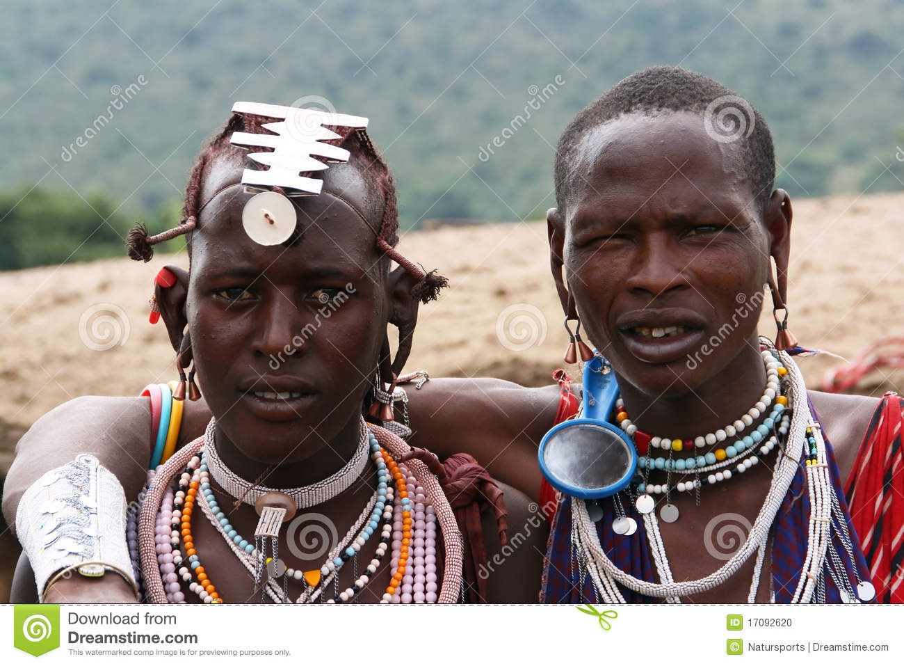 making of maasai men