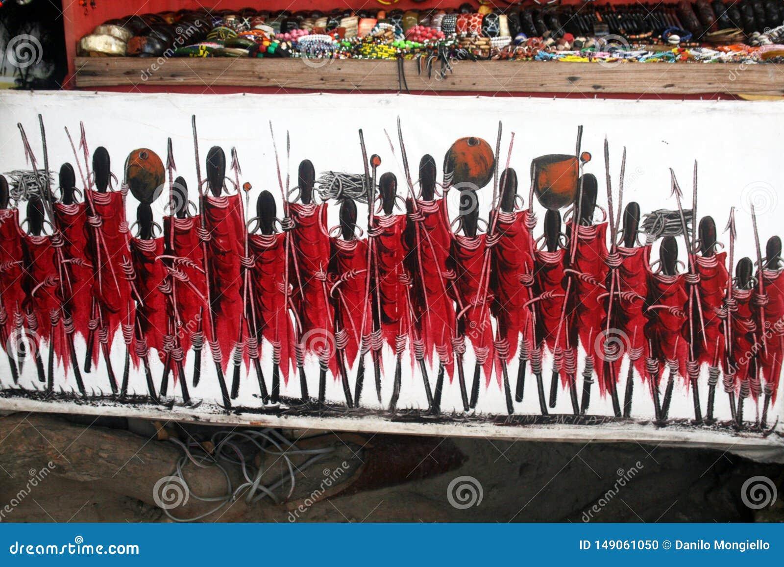 Masai obraz