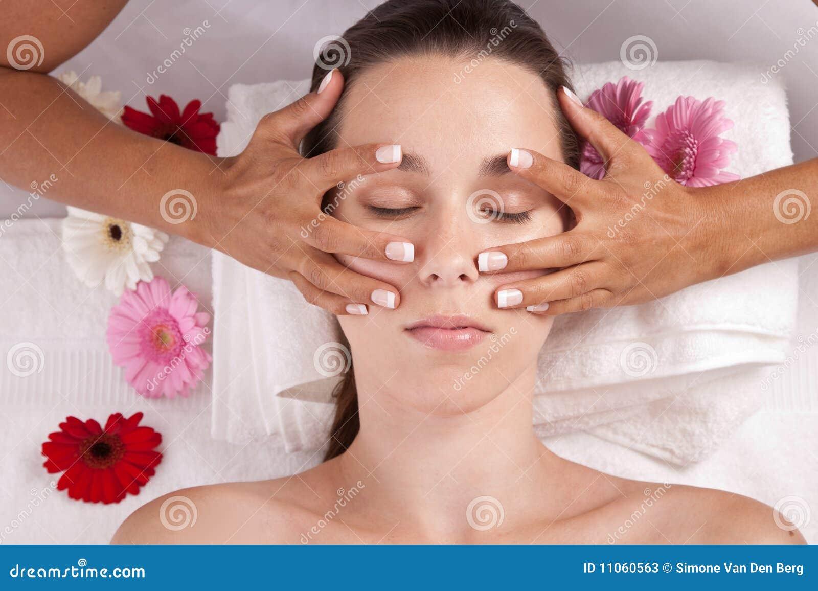 cámara web masaje córneo