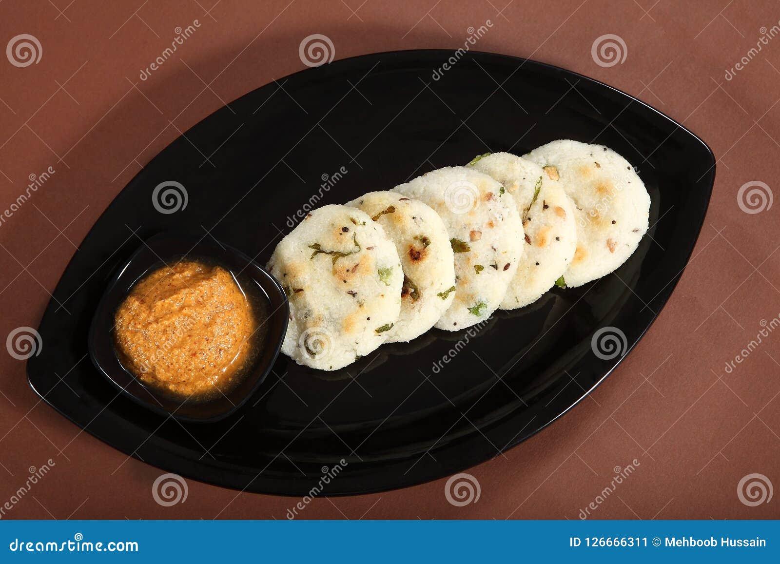 Masala Idli, dolce di riso saporito