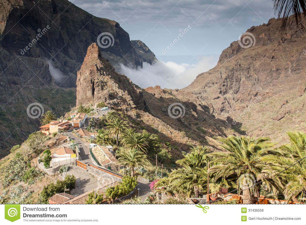 Masca Of Tenerife Royalty Free Stock Photos - Image: 31436558