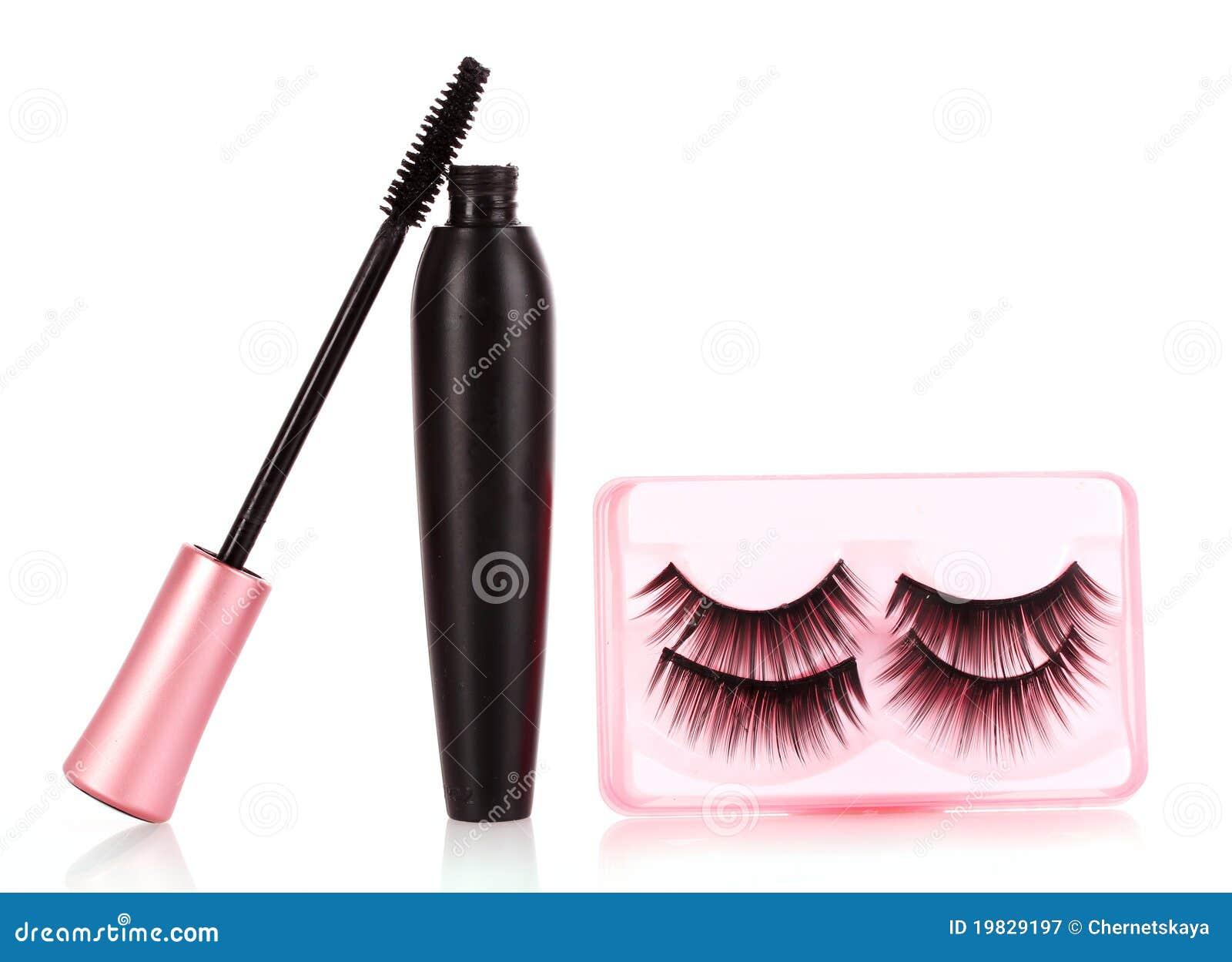 Mascara And False Eyelashes Stock Image Image Of Decorative