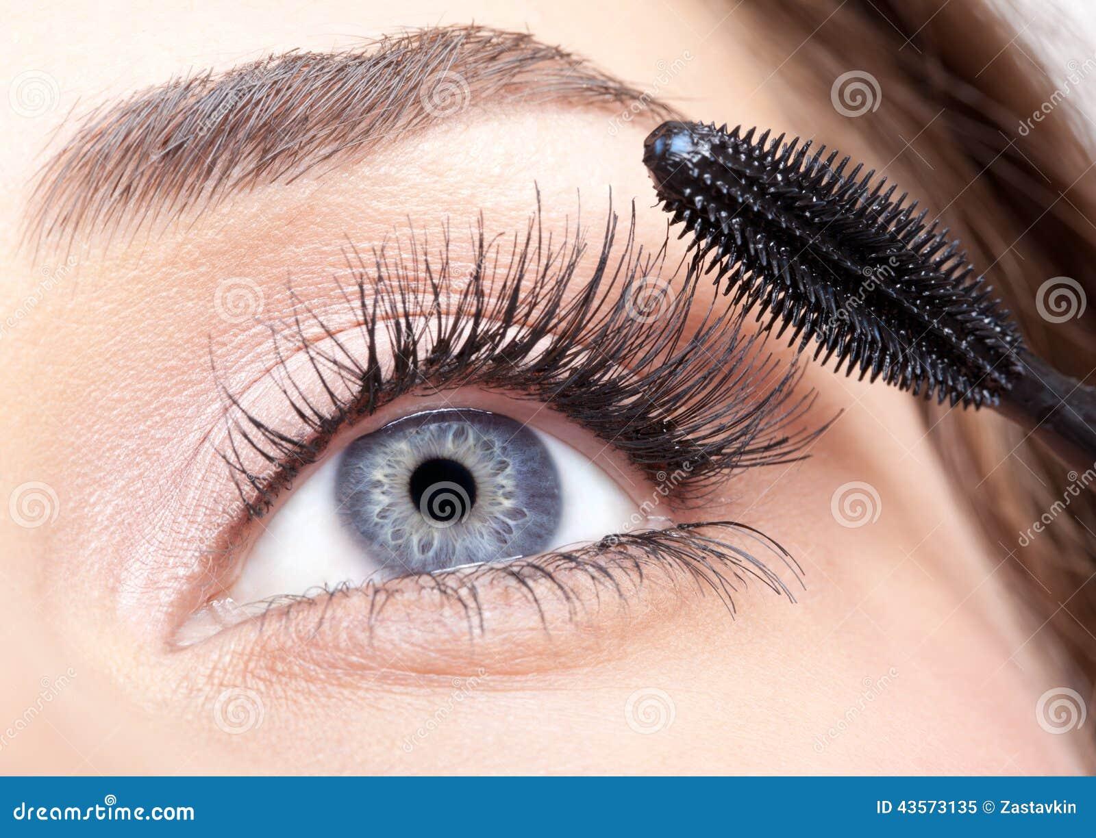 Mascara Makeup Stock Image Image Of Clean Pretty Mascara 43573135